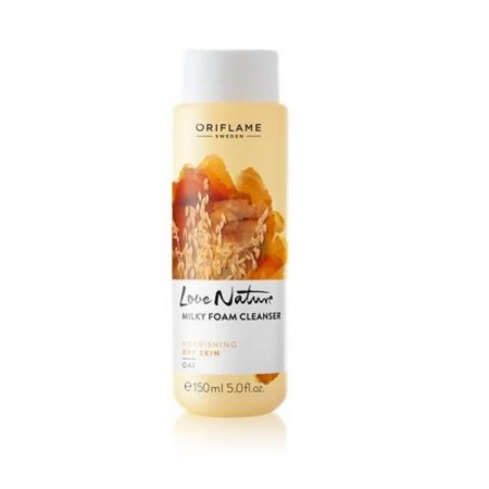 Love Nature Milky Foam Cleanser Oat