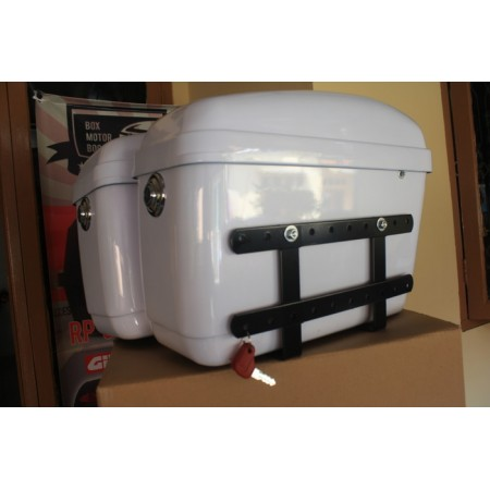 Box Motor KMI Side Box Warna Putih