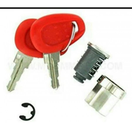 KEY TOP BOX GIVI CYLINDER KEY HOUSING SPAREPARTS ORI BOX MOTOR HARTBOX