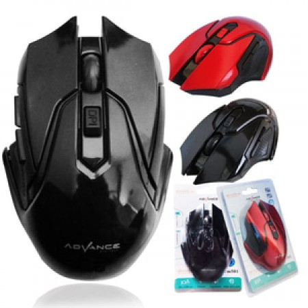 Advance Digitals WM501D Optical Wireless Mouse - Hitam