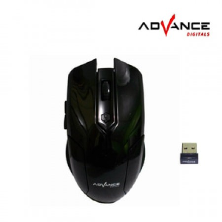 Advance Digitals WM501B Optical Wireless Mouse