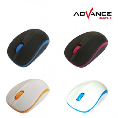 Advance Digitals W10 Optical Wireless Mouse