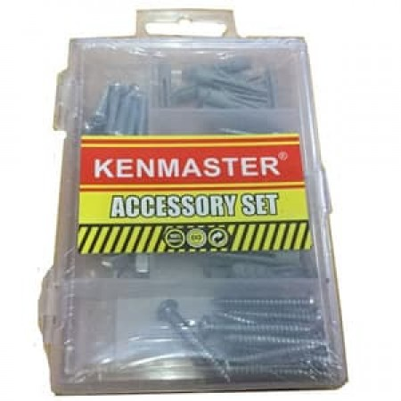 Kenmaster Accessory Set No10 Baut Fisher Mur Galvanis Mini No 10