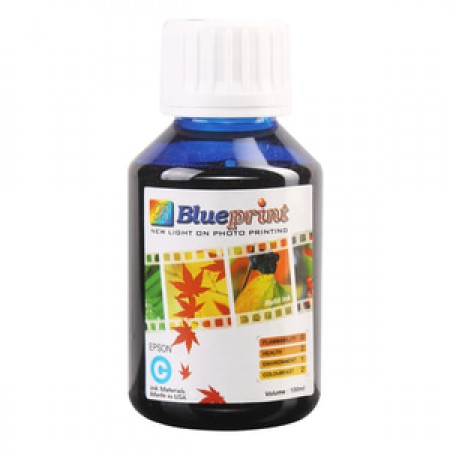 Blueprint Bulk Ink Photo 100 ml Epson - Cyan/Biru