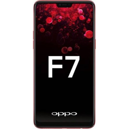 OPPO F7 4GB/64GB Red - 25 MP Ai Camera (Garansi Resmi Oppo Indonesia)