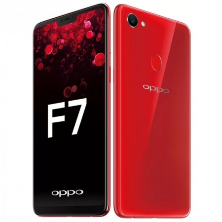 OPPO F7 6GB/128GB Red - 25 MP Ai Camera (Garansi Resmi Oppo Indonesia)