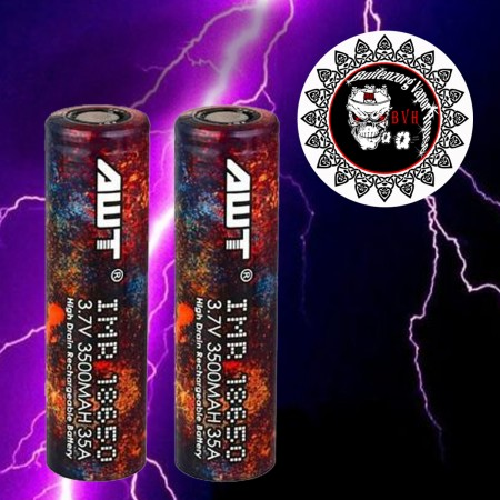 Battery AWT 35A IMR 3500mAh 3500mAh 18650 3.7V battery lithium io 18650 approved 18650