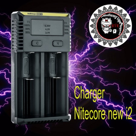 Nitecore i2 Charger Battery 18650