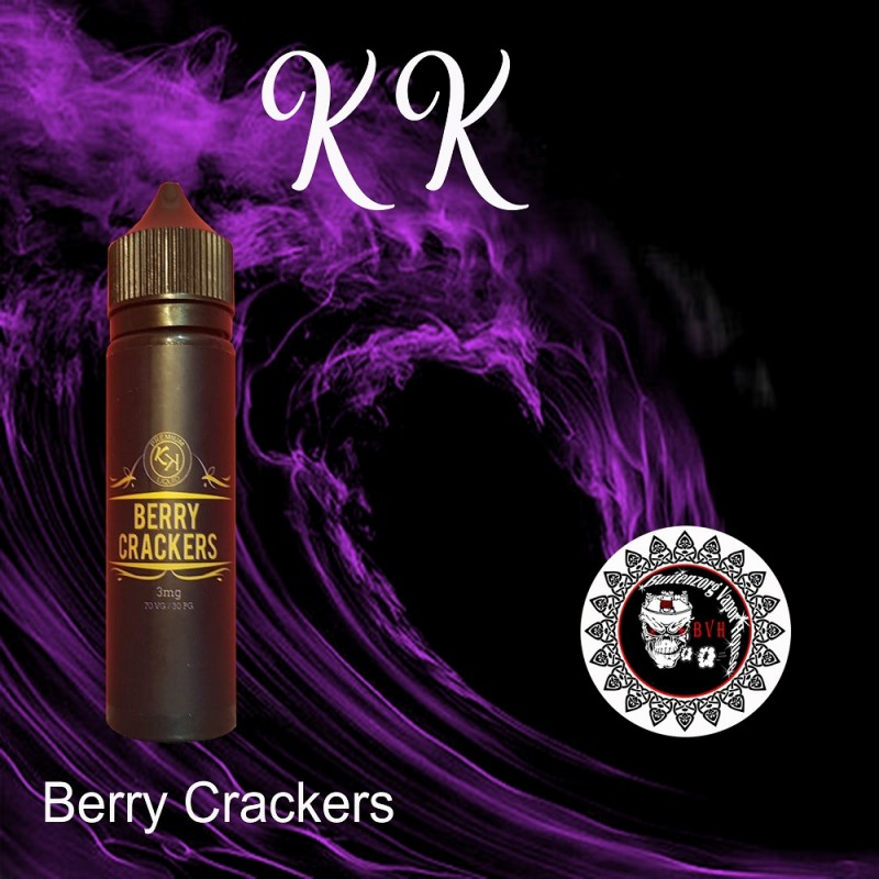 E-Liquid BERRY CRACKER (Blueberry Cracker)