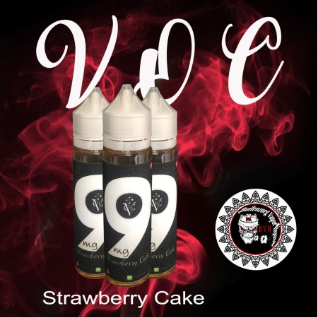 E-Liquid 9mg (Strawberry Cake)