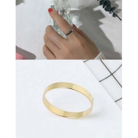 minimalist pure color ring