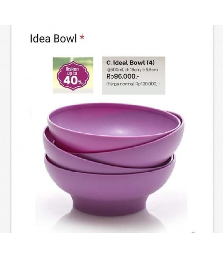 Tupperware IDEAL BOWL (4)