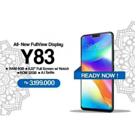 Tempered Glass 5D Vivo Y83