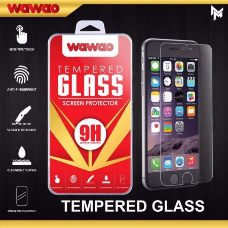 Tempered Glass Wawao All Type Packing MiKa