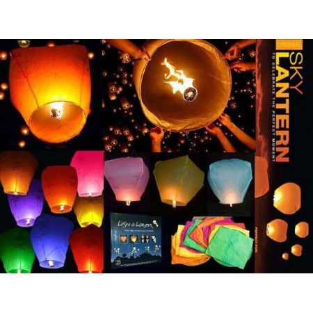 Lampion Terbang ORDER MINIMAL 10 PCS